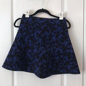 Express jacquard skirt size 0